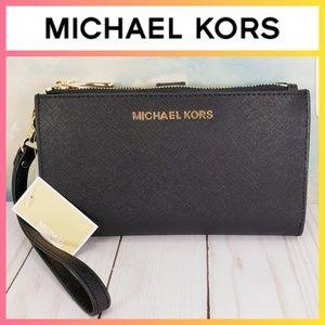 Michael Kors Adele Phone Wristlet Wallet